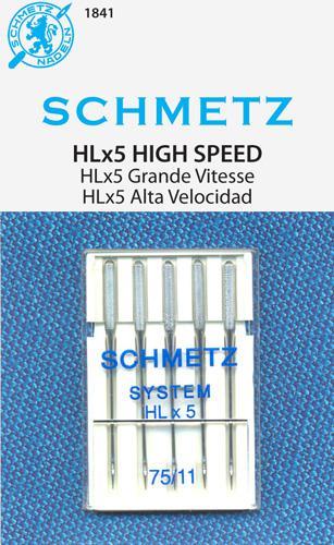 Schmetz HLx5 Quilt sz7511 5pk Needles