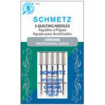 Schmetz - Chrome Quilting 90/14 Carded 5 Pack