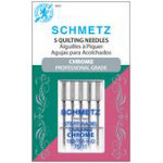 Schmetz Chrome Quilting 75/11 Carded 5 Pack
