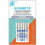 Schmetz Chrome Topstitch 80/12 Carded 5 Pack