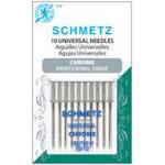 Schmetz Chrome Universal Machine needles 70/10 Carded 10