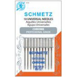 Schmetz Chrome Universal 80/12 Carded 10 Pack