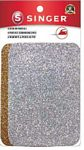 Iron-On Silver/Gold Glitter Patch Set of 4 Singer