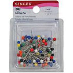 Pins Ball Point Color Head size 17 1-1/16in (90)