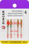 Needle Singer Yellow Band Ball Point 4 count
