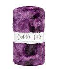 Luxe Cuddle Cut 2yd Galaxy Plum