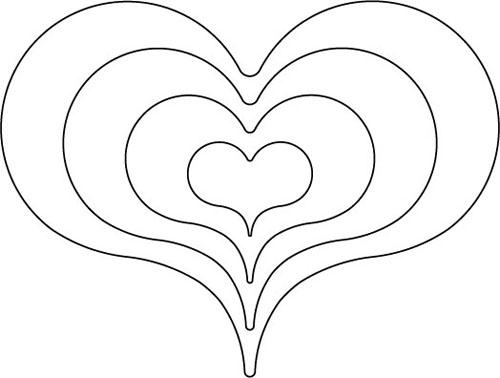 Quilter's Rule Heart Design Tool