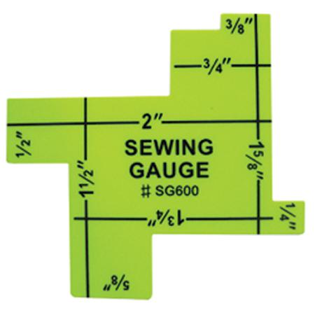 Gauge Sewing with 8 different Gauge Sewing with 8 different sizes ranging