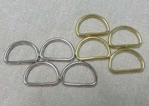 1.25 Nickel D-Rings