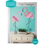 Mod Flamingos