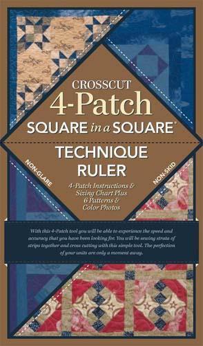 Cross Cut 4 Patch Ruler