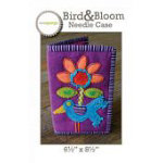 Bird and Bloom Needle Case Pattern by Sue Spargo - 6 1/2 X 8 12