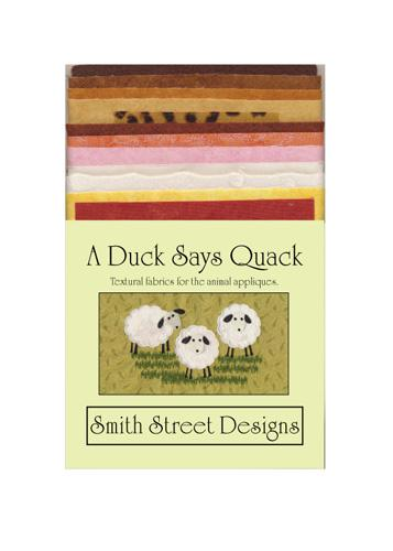 A Duck Says Quack Textural Fabric Pack
