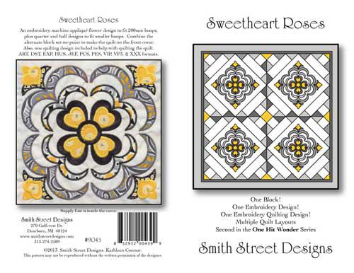 Sweetheart Roses Quilt Pattern
