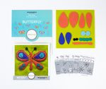 Sue Spargo Pre-cut Wool Kit Butterfly No 1