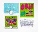 Sue Spargo Pre-cut Wool Kit Butterfly No 2