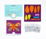 Sue Spargo Pre-cut Wool Kit Butterfly No 4
