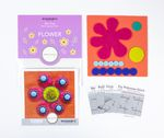Sue Spargo Pre-cut Wool Kit Flower No 1