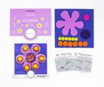 Sue Spargo Pre-cut Wool Kit Flower No 2