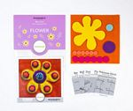 Sue Spargo Pre-cut Wool Kit Flower No 4