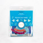 Pre-Cut Wool Kit Polka Dot Bird 3 Sue Spargo