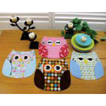 *Who's Place! Owl Placemat Pattern - ST1124