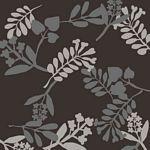 Avalana-Organic Jacquard Knit Twigs Black