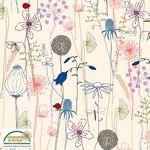 AVALANA Jersey-Flowers Cream