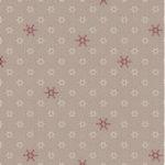 Stof Silent Christmas Stars & Flakes - Sandcastle 4496 303