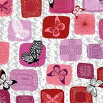 Flying Around-Patches Pink