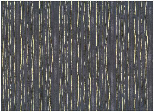 Golden Elements-Dot Wave Stripe Grey