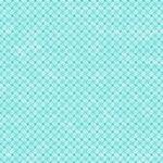 Stof Gradiente Flower Lines Turquoise