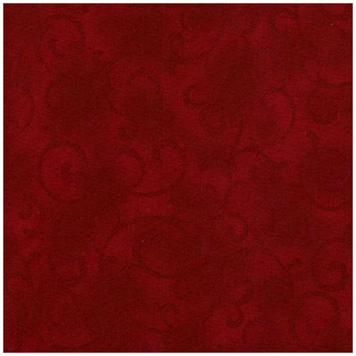 Quilters Basic Damask Rust Red