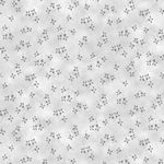 Quilters Coordinates - Tossed Flowers Lt Grey