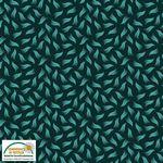 Quilters Combination--Tossed Swish Dark Green