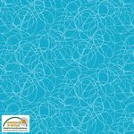 Quilters Combination--Scribble Turqouise
