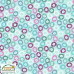 Quilters Combination--Color Circles Mint