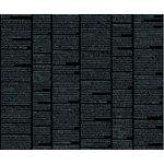 Quilters Harmony-News Columns, Black/White