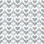Christmas Wonders White Silver Heart 4496 112