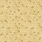 Christmas Wonders Geometric Beige Gold