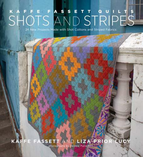 Quilts Shots and Stripes by Kaffe Fassett & Lucy Prior