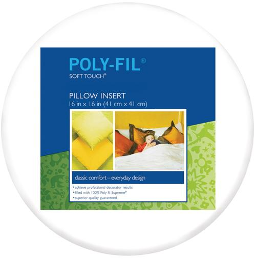 Poly Down Pillowform 16in Round