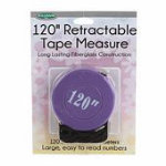 120in Purple Retractable Tape Measure