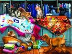 Quilting Room Mischief 1000pc Puzzle