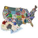 American Quilt Puzzle 600pc