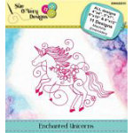 Pattern Enchanted Unicorns Machine Embroidery Designs