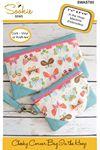 Cheeky Corner Zipper Bag In the Hoop Machine Embroidery