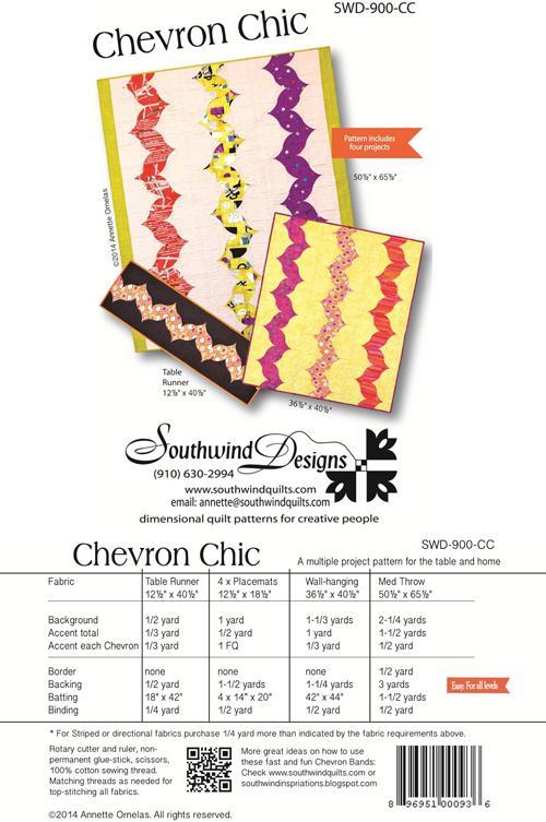 CHEVRON CHIC PATTERN SWD900CC Southwind Designs
