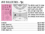 Sariditty Arc Collection 4pc Set-Longarm 6mm