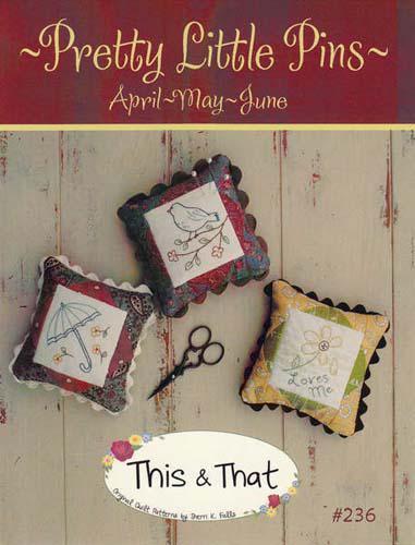 Pretty Little Pins 2 Apr/May/Jun